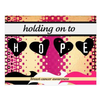 Cartão Postal Aferrar-se à esperança
