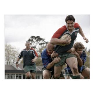 Cartão Postal África do Sul, Cape Town, clube falso do rugby da