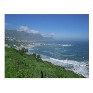 Cartão Postal África do Sul - praia de Clifton, Cape Town
