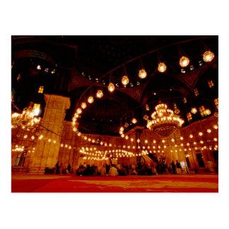 Cartão Postal África, Egipto, o Cairo, Muhammad Ali Mosque,