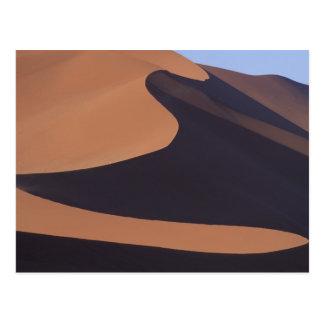 Cartão Postal África, Namíbia, deserto de Namib. Sossusvlei.