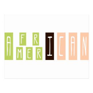 Cartão Postal Afro-americano