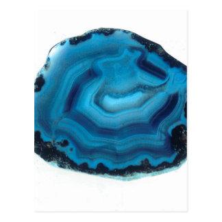 Cartão Postal Ágata azul