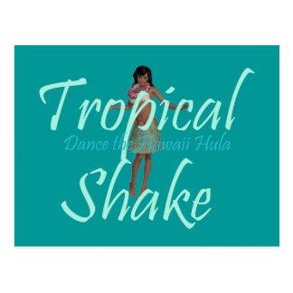 Cartão Postal Agitação tropical do T