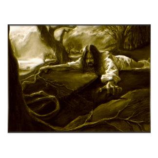 Cartão Postal Agonia do Jesus Cristo no jardim de Gethsemane