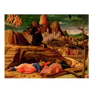 Cartão Postal Agonia no jardim, c.1460