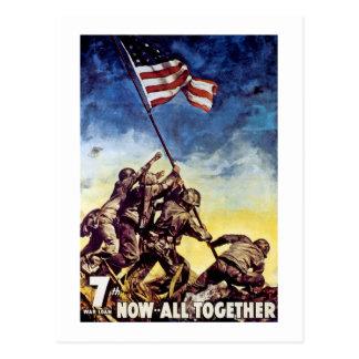 Cartão Postal Agora tudo junto ~ Iwo Jima