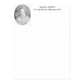 Cartão Postal Agostino Steffani