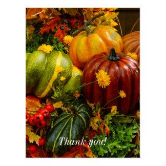 Cartão Postal Agrupamento do outono