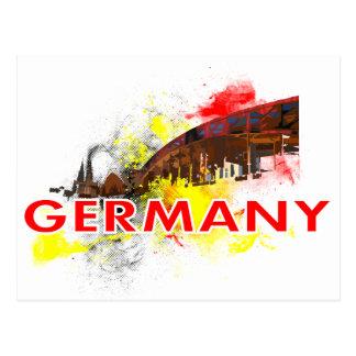 Cartão Postal Água de Colônia Alemanha