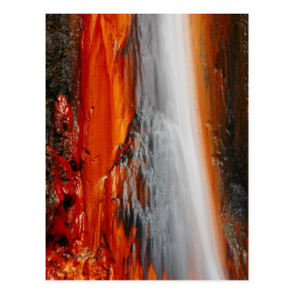 Cartão Postal Água do thermal de Açores