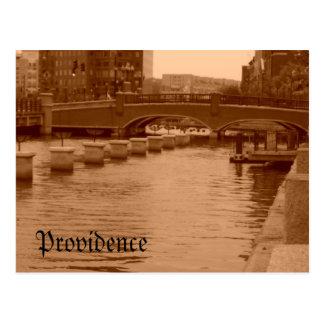 Cartão Postal Água sob a ponte