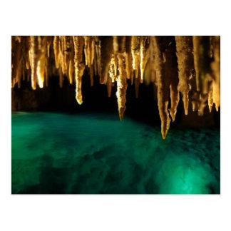 Cartão Postal Água subterrânea das cavernas N