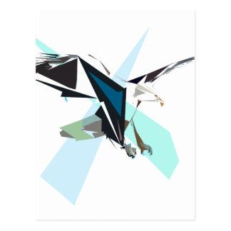 Cartão Postal águia