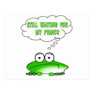 Cartão Postal Ainda esperando meu príncipe
