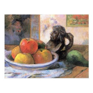 Cartão Postal Ainda fruta da vida - Paul Gauguin