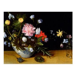 Cartão Postal Ainda vida das flores