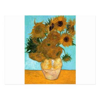 Cartão Postal Ainda vida: Girassóis - Vincent van Gogh