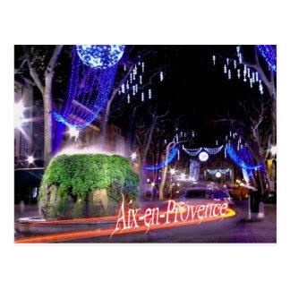 Cartão Postal Aix em Provença