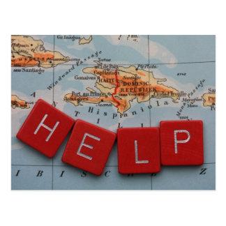 Cartão Postal Ajuda Haiti