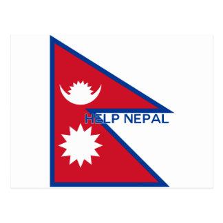 Cartão Postal Ajuda Nepal!