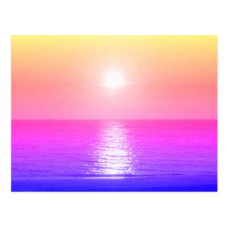 Cartão Postal Ajuste Sun