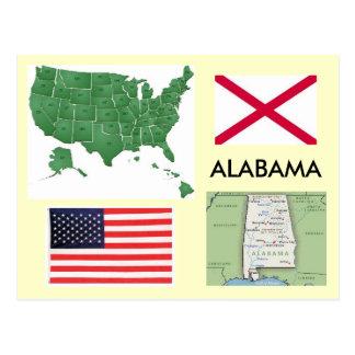 Cartão Postal Alabama, EUA