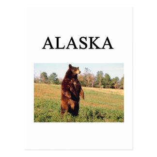 Cartão Postal Alaska