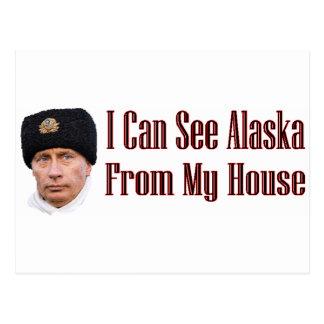 Cartão Postal Alaska de minha casa