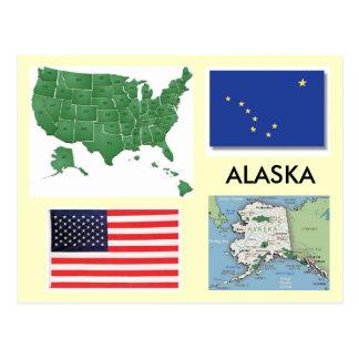 Cartão Postal Alaska, EUA