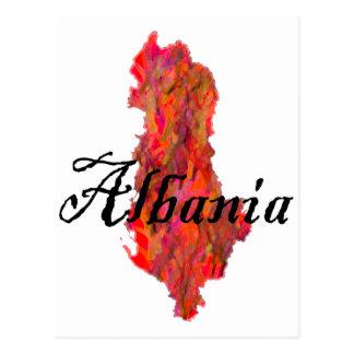 Cartão Postal Albânia
