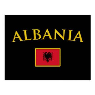 Cartão Postal Albânia dourada