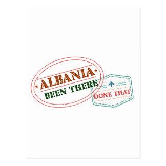 Cartão Postal Albânia feito lá isso
