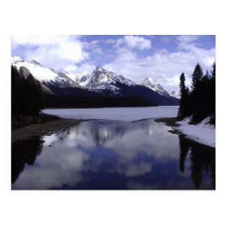 Cartão Postal Alberta Montanhas Rochosas, Canadá
