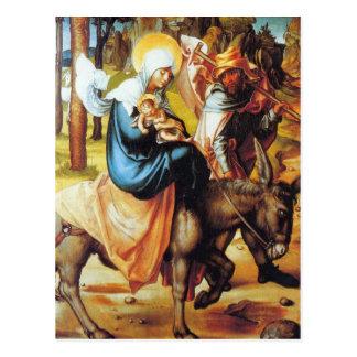 Cartão Postal Albrecht Durer - a dor de sete Marys - vôo int