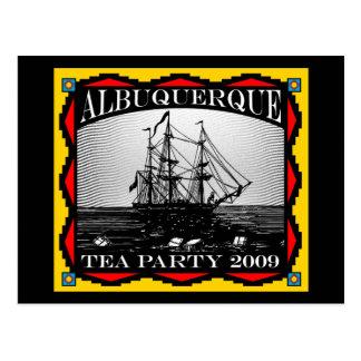 Cartão Postal Albuquerque, tea party do nanômetro -