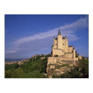 Cartão Postal Alcazar, Segovia, Castile Leon, espanha