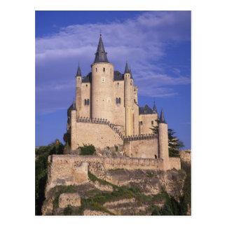 Cartão Postal Alcazar, Segovia, Castile Leon, espanha, Unesco