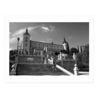 Cartão Postal Alcazar Toledo