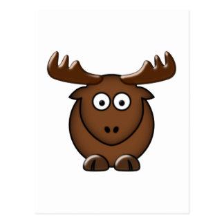 Cartão Postal Alce moose