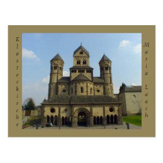 Cartão Postal Alemanha de Klosterkirche Maria Laach