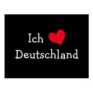 Cartão Postal Alemanha do liebe de Ich