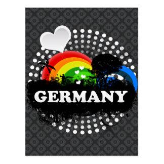 Cartão Postal Alemanha frutado bonito