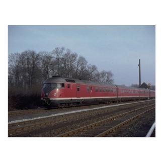 Cartão Postal Alemanha, grupo diesel do railcar de GFR (BB),