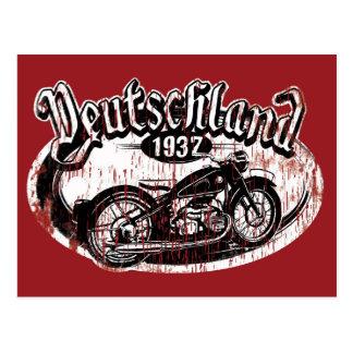 Cartão Postal Alemanha Motowear