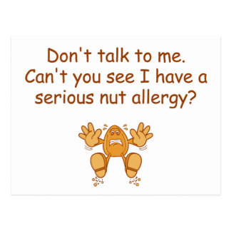 Cartão Postal Alergia da porca