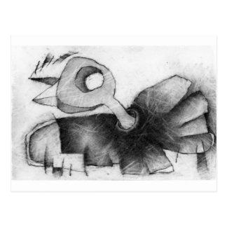Cartão Postal aleta do pássaro