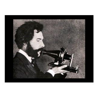 Cartão Postal Alexander Graham Bell