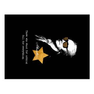 Cartão Postal Alexander Hamilton aqueles que representam nada