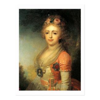 Cartão Postal Alexandra Pavlovna Romanova